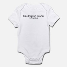 Geography Teacher in Training Infant Bodysuit