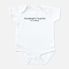 Geography Teacher in Training Onesie