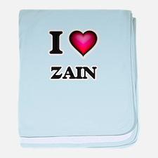 I love Zain baby blanket