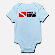 Born To Dive Body Suit