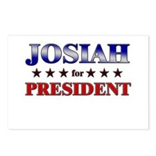JOSIAH for president Postcards (Package of 8)