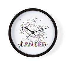 CANCER Skies Wall Clock