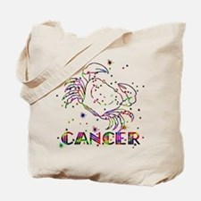 CANCER Skies Tote Bag