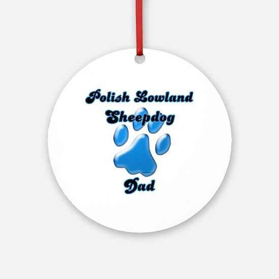 Lowland Dad3 Ornament (Round)