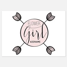 Flower Girl Personalized Invitations