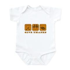 Give Thanks Infant Bodysuit