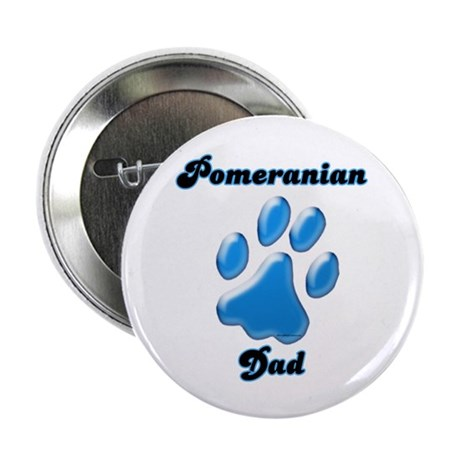 "Pomeranian Dad3 2.25"" Button"