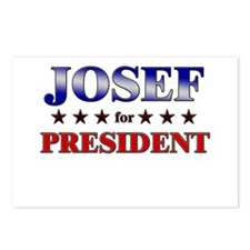 JOSEF for president Postcards (Package of 8)