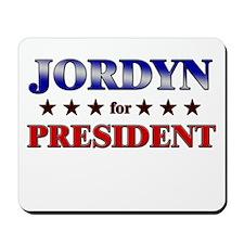 JORDYN for president Mousepad