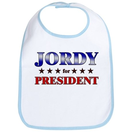 JORDY for president Bib