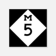 Michigan M5 Sticker
