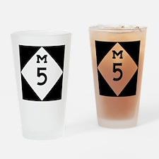 Michigan M5 Drinking Glass