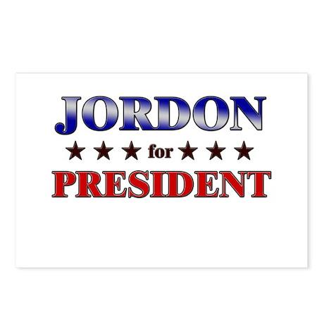 JORDON for president Postcards (Package of 8)