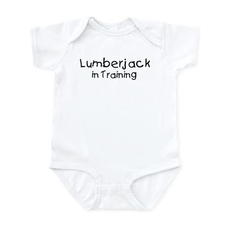 Lumberjack in Training Infant Bodysuit