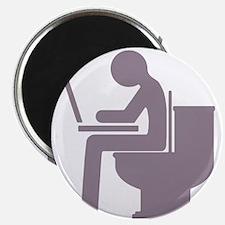 Bathroom Blogging Magnet