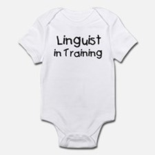 Linguist in Training Infant Bodysuit