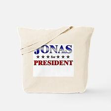 JONAS for president Tote Bag