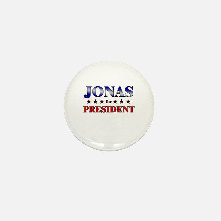 JONAS for president Mini Button