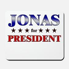 JONAS for president Mousepad