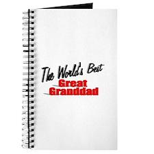 """The World's Best Great Granddad"" Journal"