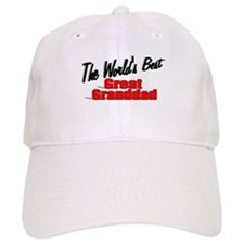"""The World's Best Great Granddad"" Baseball Cap"