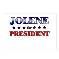 JOLENE for president Postcards (Package of 8)