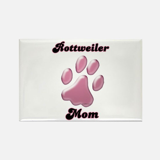 Rottweiler Mom3 Rectangle Magnet