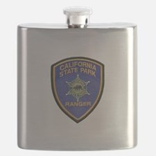California State Park Ranger Flask