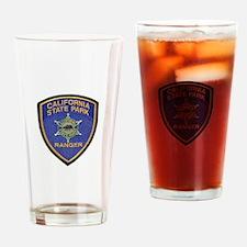 California State Park Ranger Drinking Glass