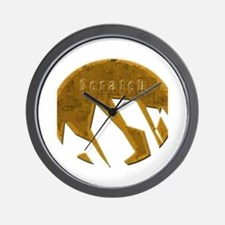 Unique Logo design Wall Clock