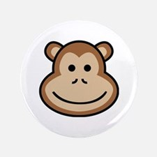 Cute Apes and babes Button
