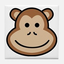 Cute Babe apes Tile Coaster