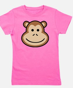 Cute Apes and babes Girl's Tee