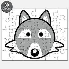 Cute Raccoon birthday Puzzle