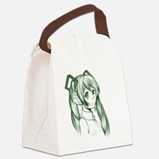 Cute Anime Canvas Lunch Bag