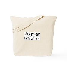 Juggler in Training Tote Bag