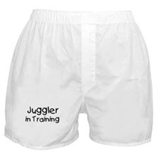 Juggler in Training Boxer Shorts