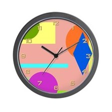 Rainbow Room Wall Clock