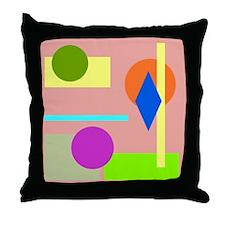Rainbow Room Throw Pillow