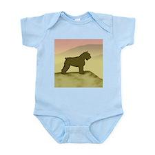 Hazy Sunrise Bouvier Infant Bodysuit