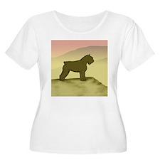 Hazy Sunrise Bouvier T-Shirt
