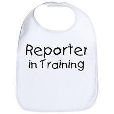Reporter in Training Bib