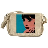 Audrey hepburn Messenger Bag