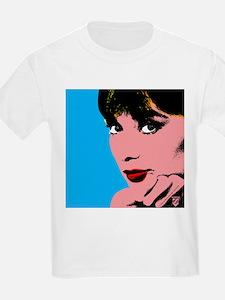 Audrey Hepburn Blue Dots T-Shirt