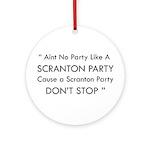 Scranton Party Ornament (Round)