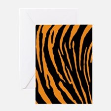 Tiger Stripes Greeting Cards