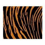 Tiger stripe Fleece Blankets