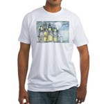 Halloween 45 Fitted T-Shirt