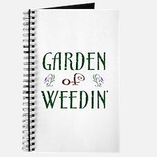 Garden of Weedin' Journal