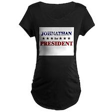 JOHNATHAN for president T-Shirt